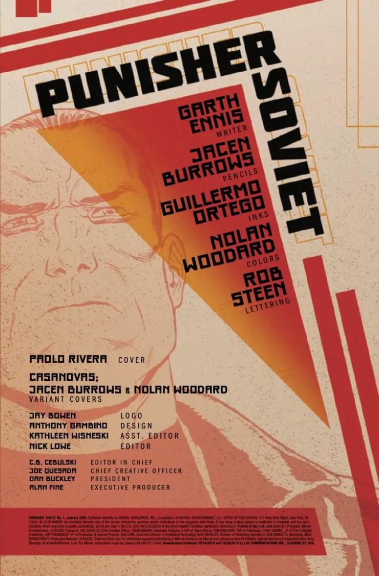 Marvel Preview: Punisher: Soviet #1