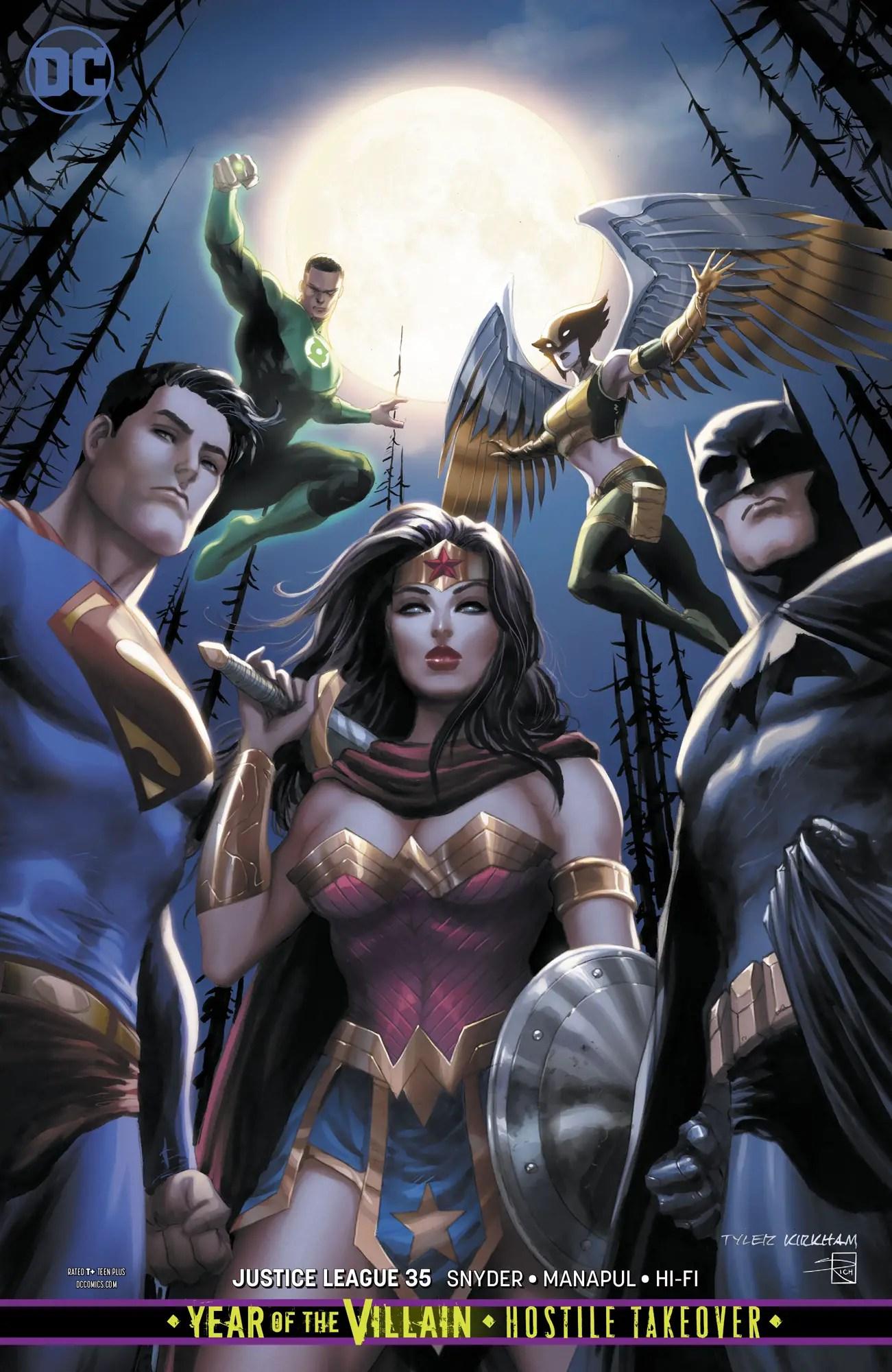 Justice League #35 Review