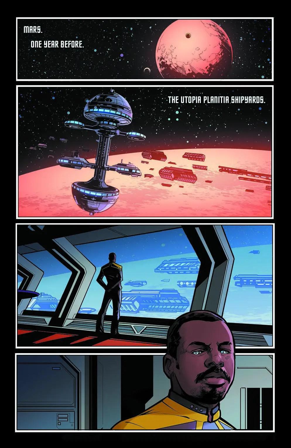 Star Trek: Picard—Countdown #1 Review
