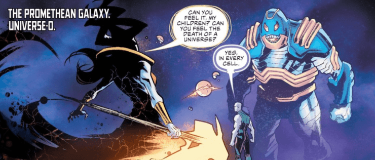 The New 52 is no more in 'Justice League' #35