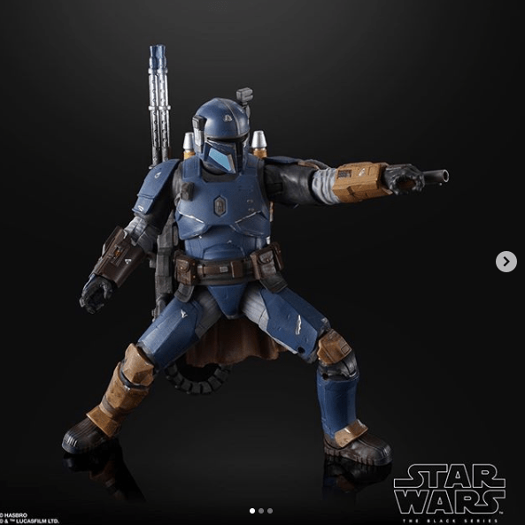 Hasbro unveils official photos for Best Buy exclusive Heavy Infantry Mandalorian