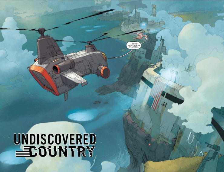 Undiscovered Country #1 Review