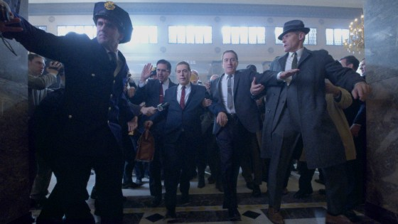 'The Irishman' showcases Scorsese talent.