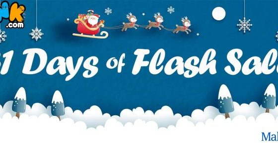 Starting on Black Friday 2019, Toynk Toys will be launching their new holiday promotional event, the longest-running holiday-based sale in the company's 18 year history. The 31 Days of Flash Sales event will begin on 11/29/2019 and end 12/28/2019, featuring up to 50% off on select products.
