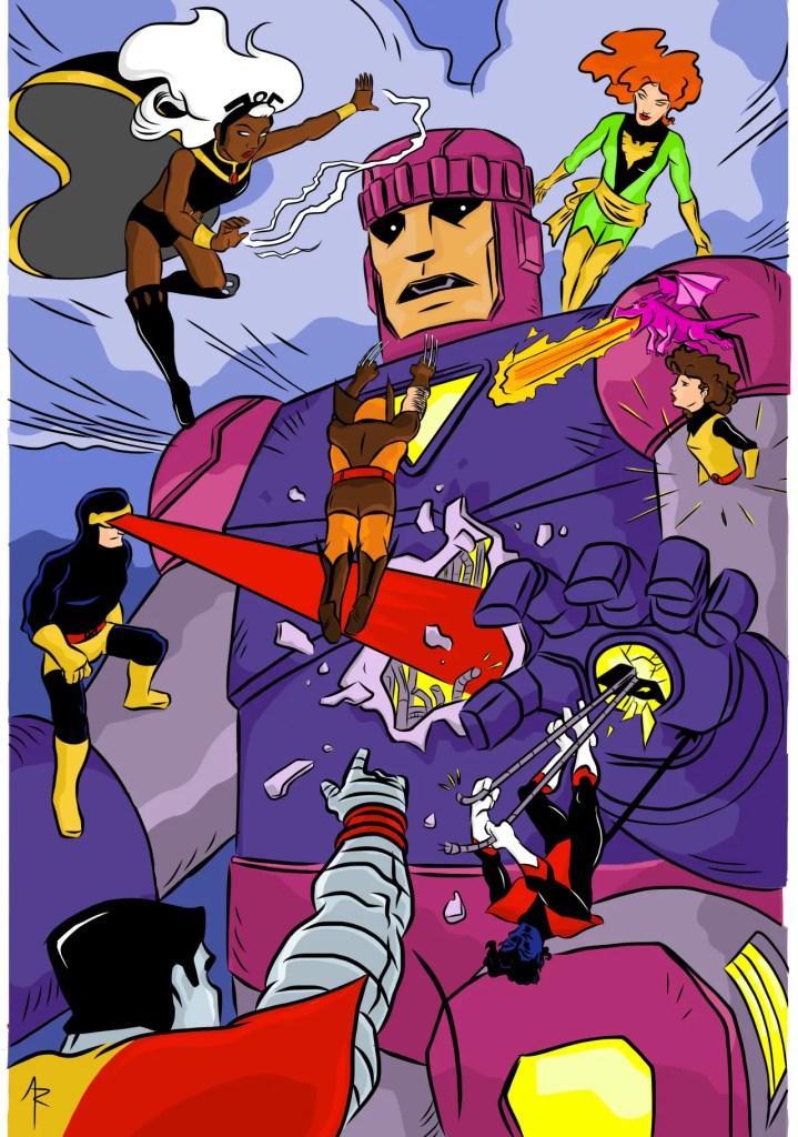 Kickstarter Alert: Podcaster and illustrator Adam Reck discusses his X-Men fan comic 'Bish & Jubez'