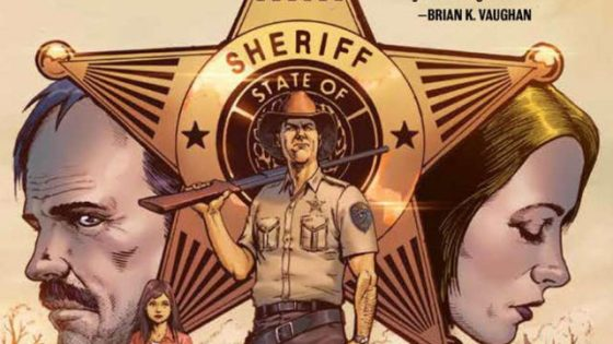 The writer/producer tackles small-town Texas in this thrilling graphic novel.