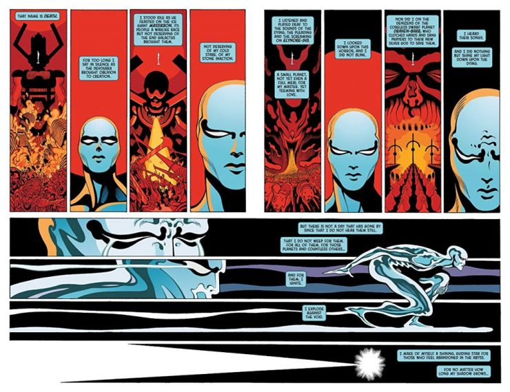 Silver Surfer: Black Treasury Edition review - The ONLY way to experience this story