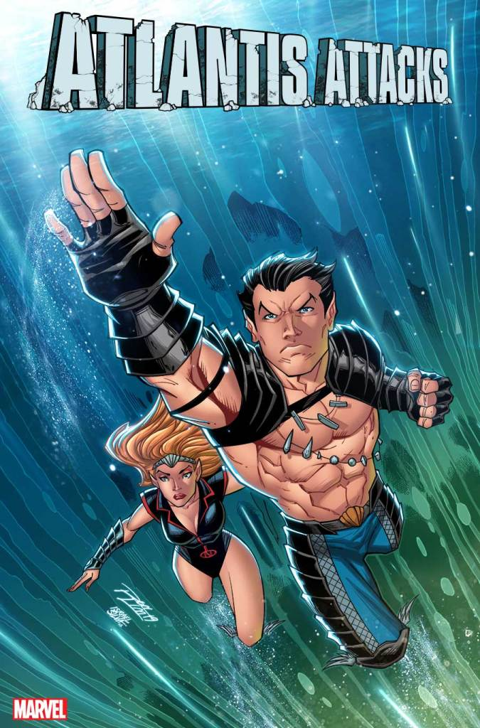 Ron Lim and Israel Silva deliver 'Atlantis Attacks' and 'Guardians of the Galaxy' variant covers out January 2020