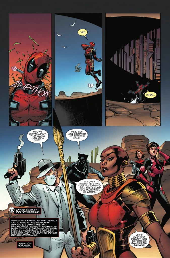 Marvel Preview: Black Panther and the Agents of Wakanda #5