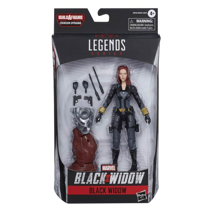 Hasbro reveals official images for Black Widow Marvel Legends wave