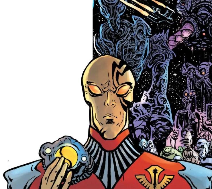 Green Lantern Blackstars #2 Annotations