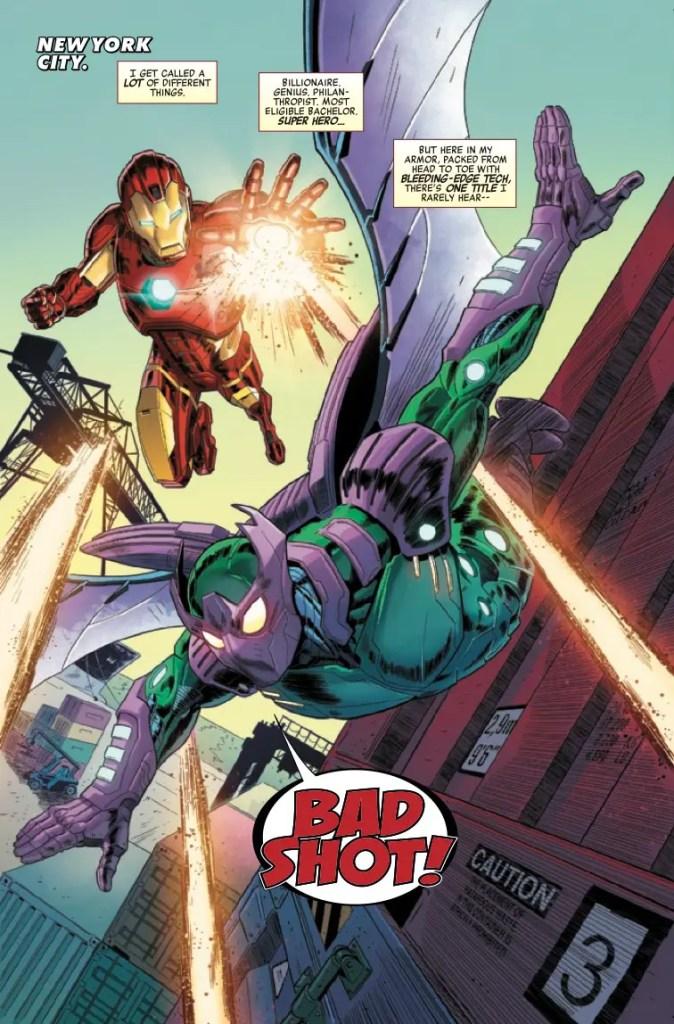 Marvel Preview: Marvel's Avengers: Iron Man (2019) #1