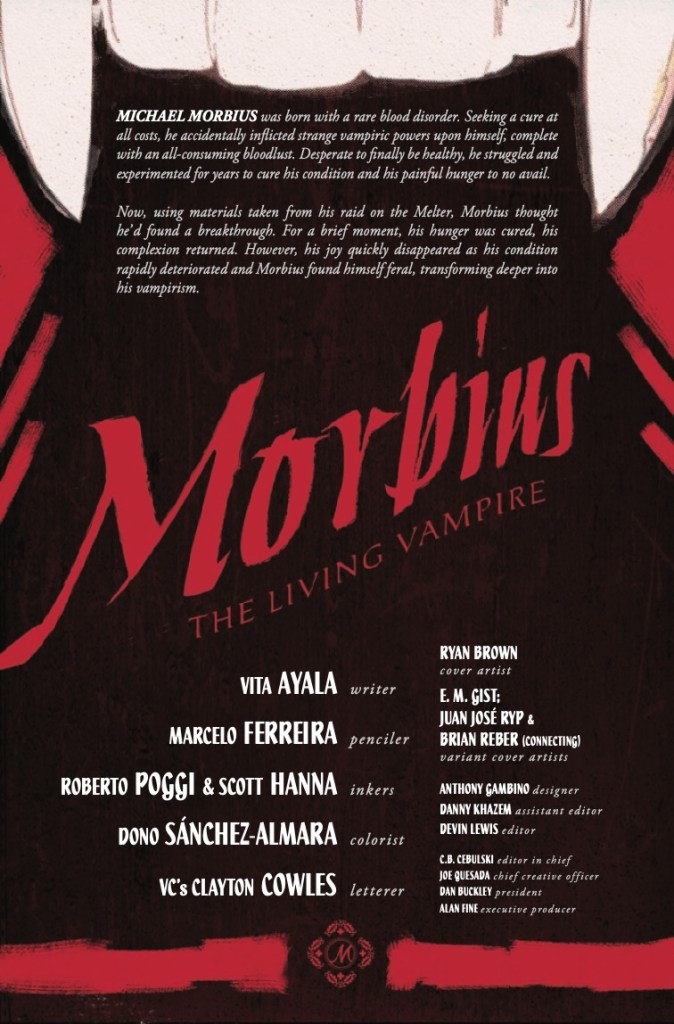 Marvel Preview: Morbius #2