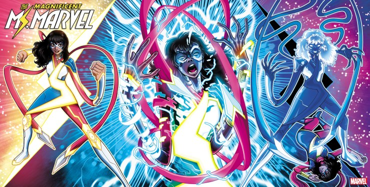 'Magnificent Ms. Marvel' gets 2nd printing and Luciano Vecchio variant covers