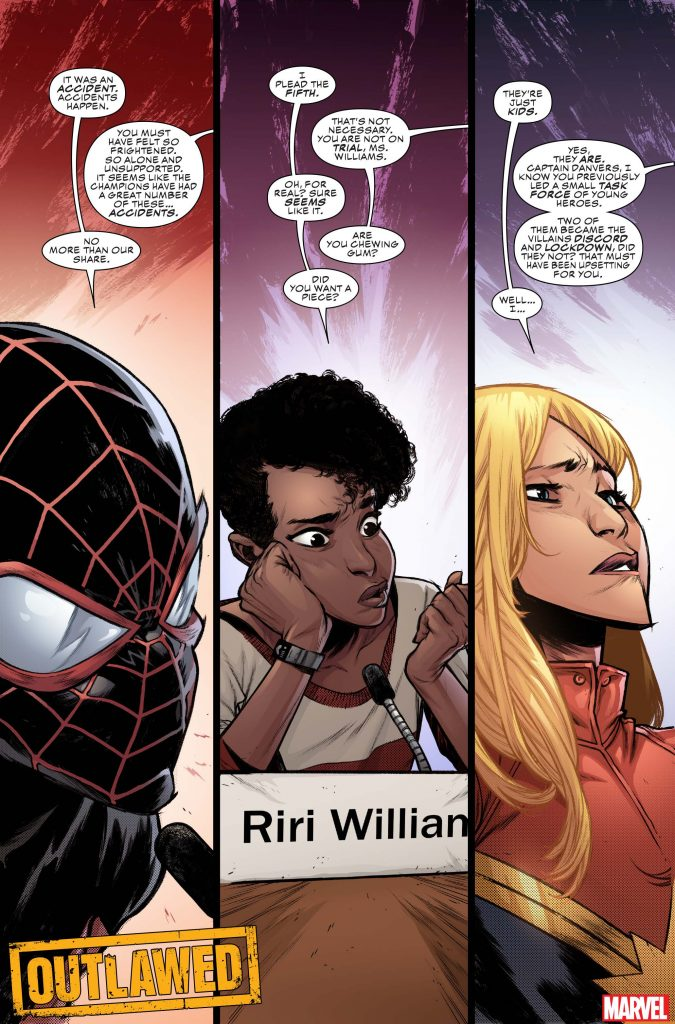 Spider-Man, Ms. Marvel, and Nova get 'Outlawed' in new series by Eve L. Ewing