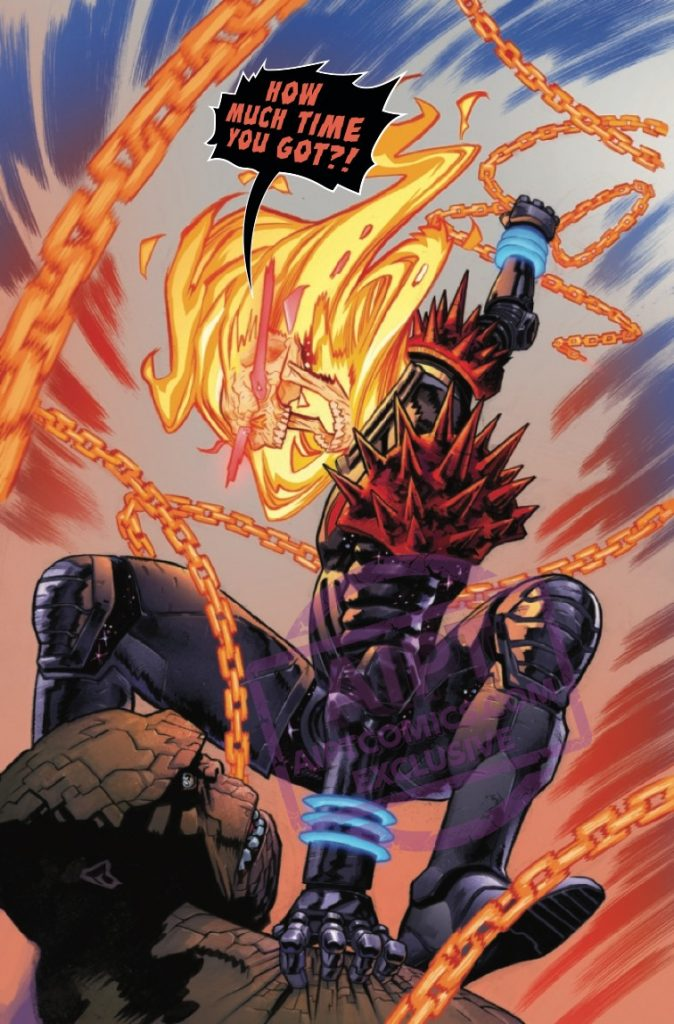 Revenge Of The Cosmic Ghost Rider #1 Review