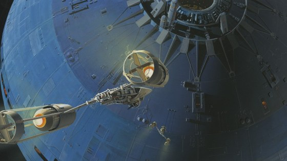 Ralph McQuarrie's work helped shape The Rise of Skywalker