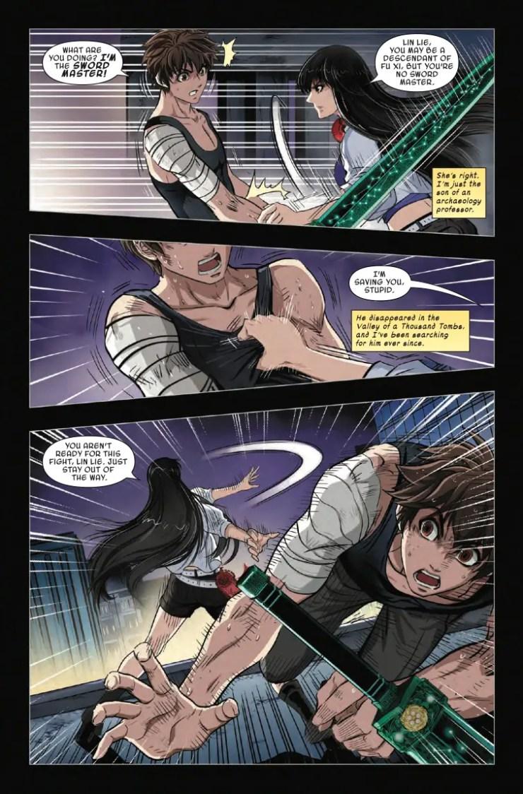 Marvel Preview: Sword Master #7