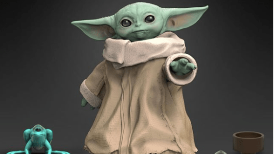 Yes, I know its actual name isn't Baby Yoda, but 'The Child' (the item's official listing) doesn't carry quite the same cachet.