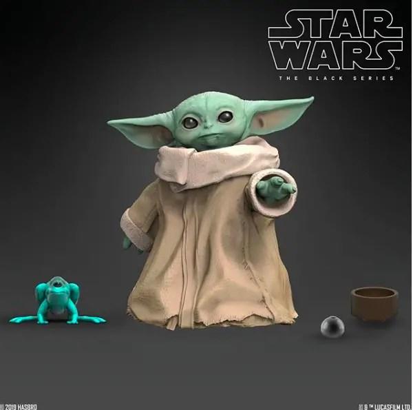 Hasbro reveals Black Series Baby Yoda figure