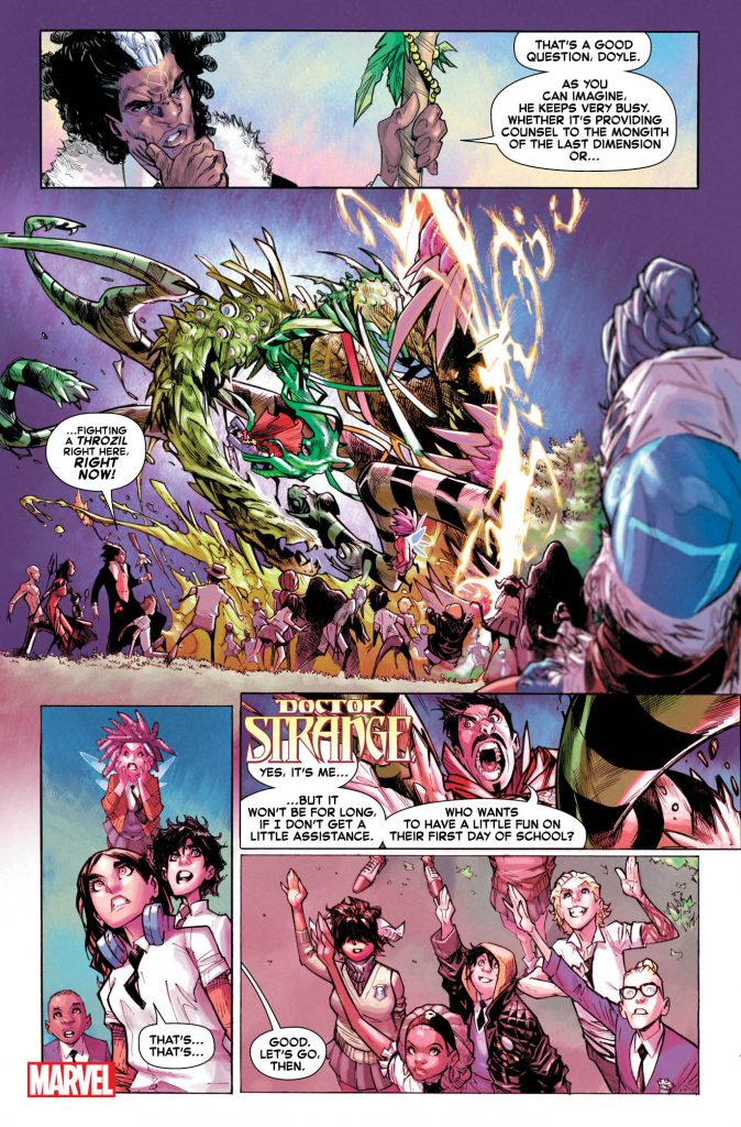 Marvel First Look: Strange Academy #1