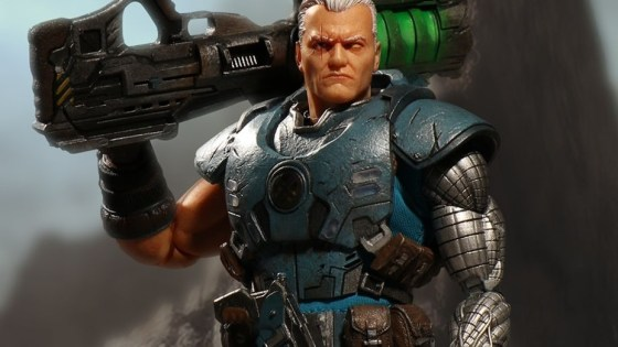Of Marvel's many muscle-bound kill men, Cable is probably the most deserving of a high quality, collector's grade action figure. He's gruff, he's got scruff, and he has many guns with which to shoot stuff. And, oh, how various toy manufacturers have tried to make a good Cable figure. Take the Diamond Select, Marvel Legends, Toy Biz, other Marvel Legends figures -- all good, and lacking in their own ways -- for just the beginning of examples.