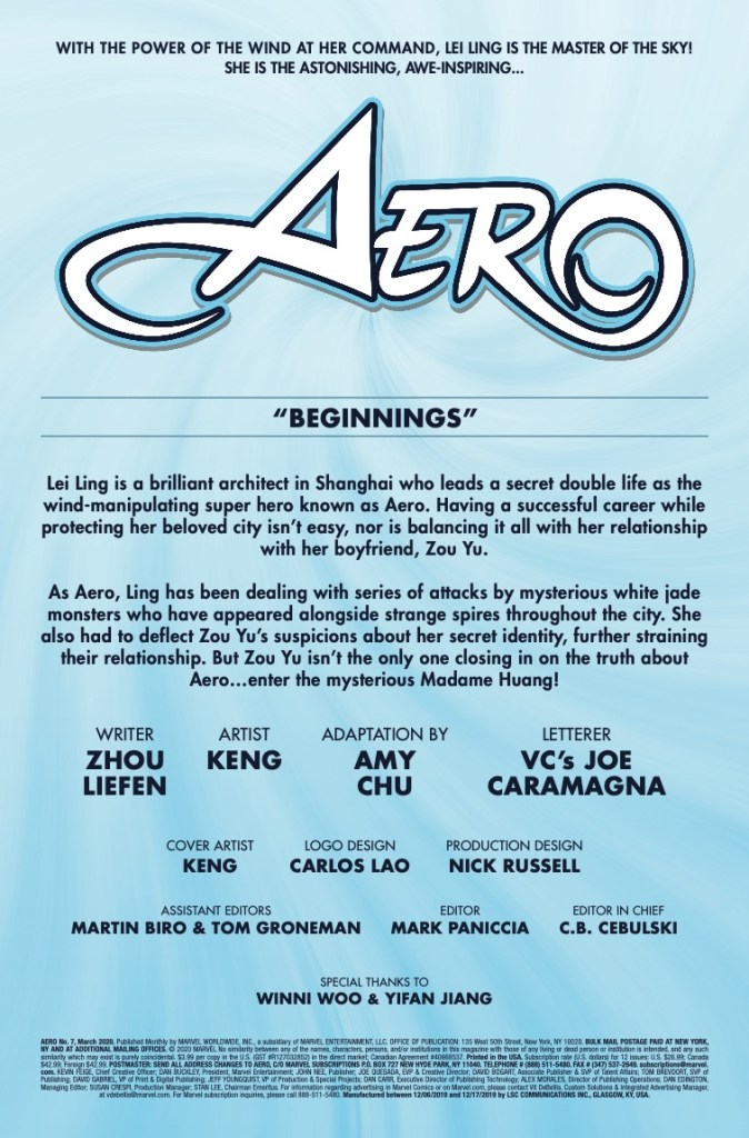 Marvel Preview: Aero #7