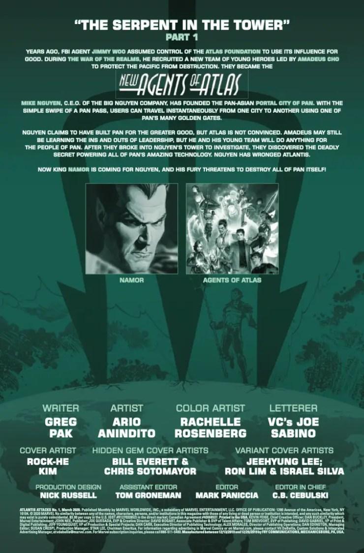 Marvel Preview: Atlantis Attacks #1