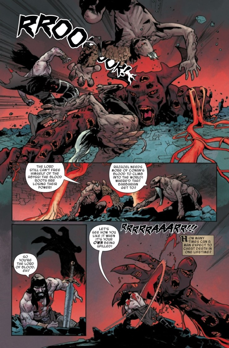 Marvel Preview: Conan the Barbarian #12
