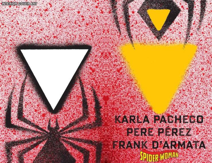 Marvel Comics reveals award-winning graphic designer Chip Kidd's Spider-Woman variant cover