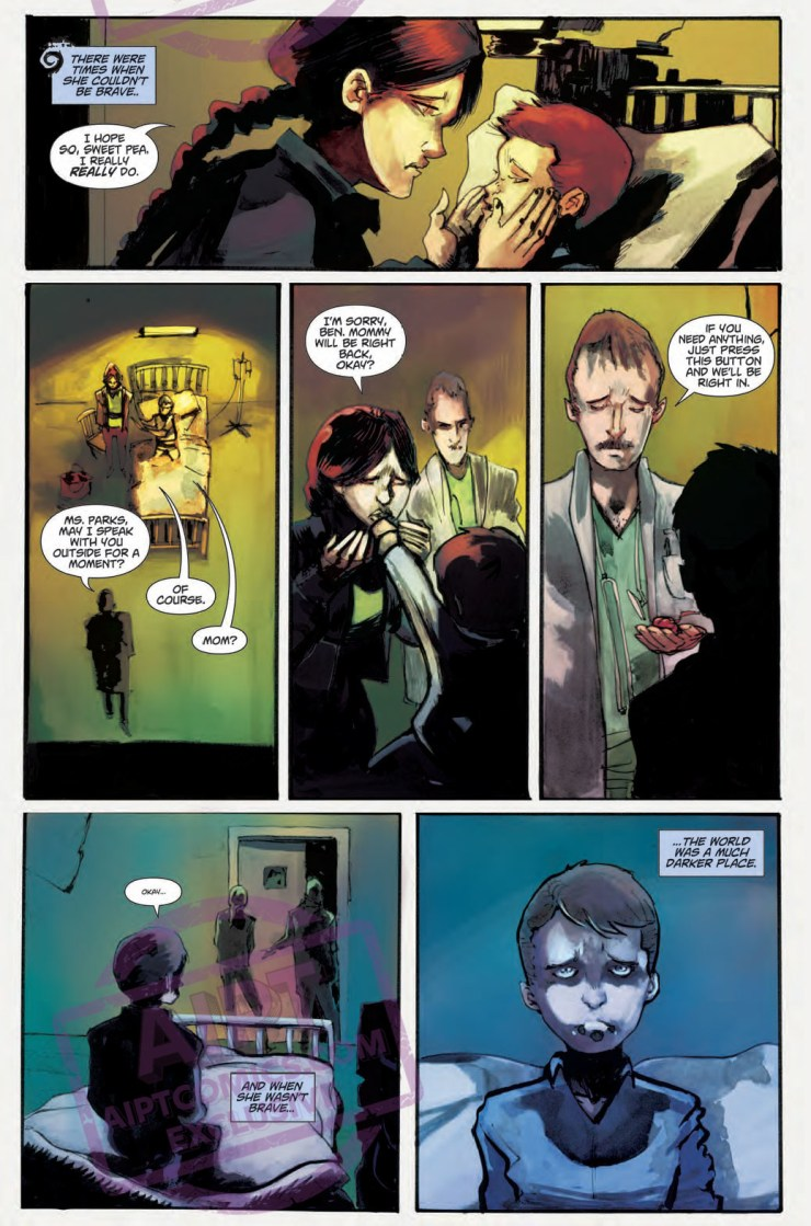 Action Lab Preview: Sweet Heart #1