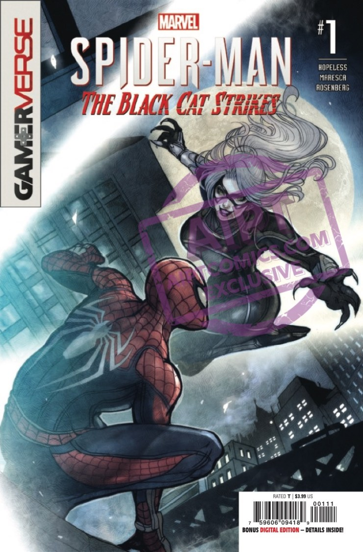 EXCLUSIVE Marvel Preview: Marvel's Spider-Man: The Black Cat Strikes #1