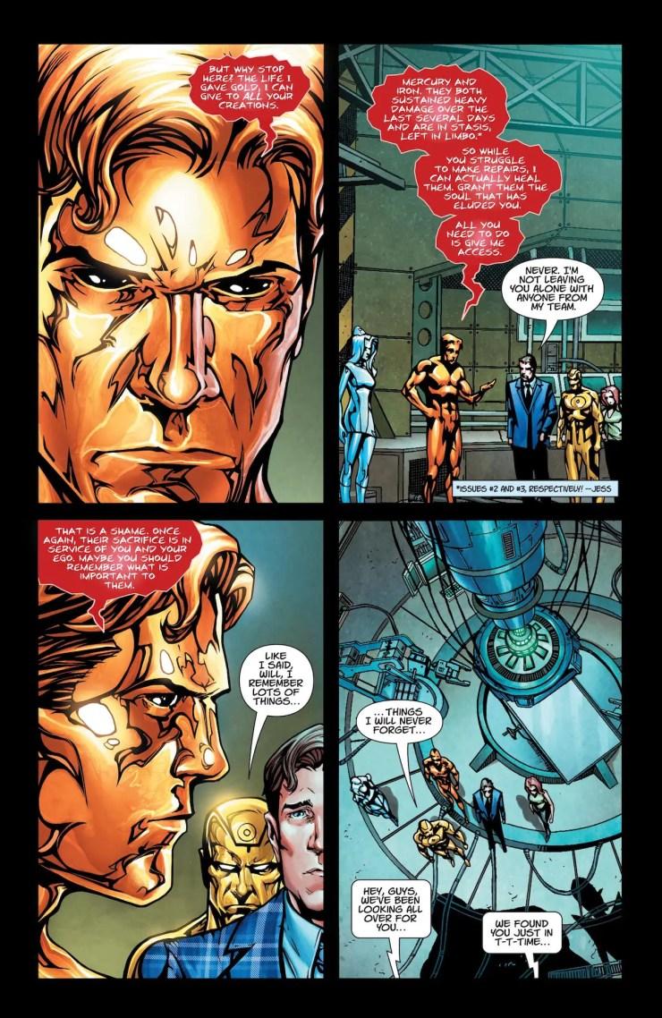 DC Preview: Metal Men #4