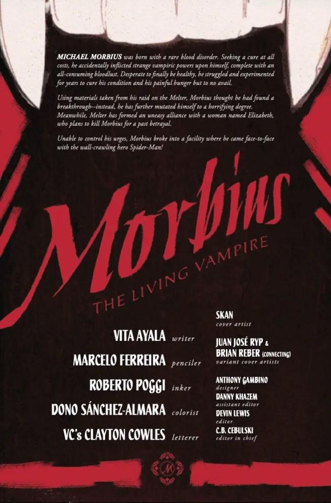 Marvel Preview: Morbius #3