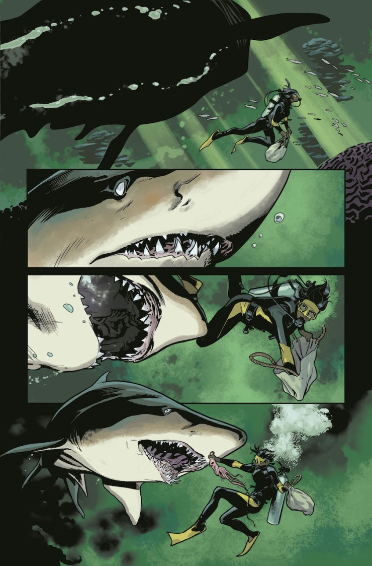 DC's Hill House Comics Preview: Plunge #1