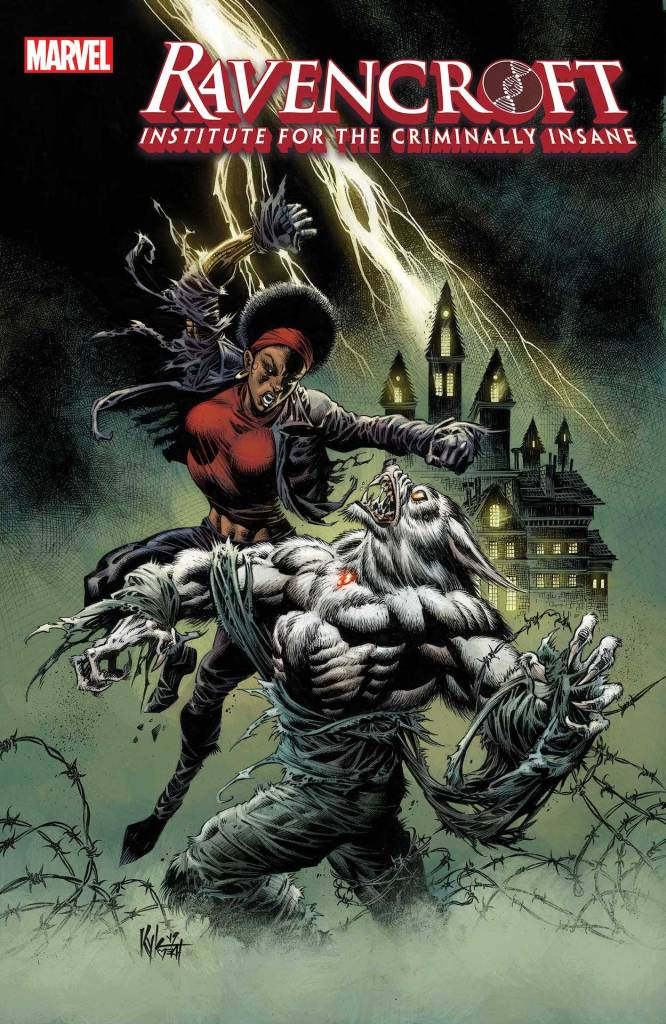 Ravencroft #4 cover