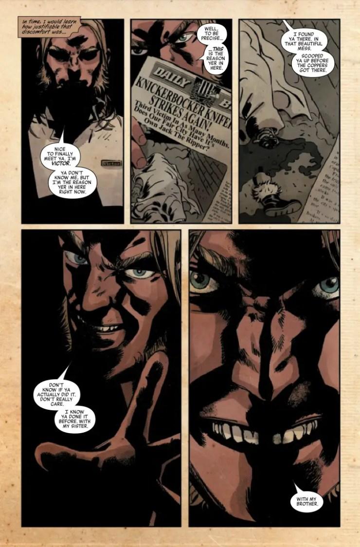 Marvel Preview: Ruins Of Ravencroft: Sabretooth #1