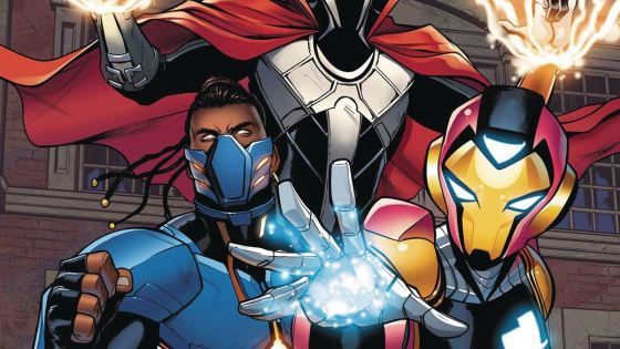 Proof enough we'll be seeing Riri Williams on the big screen some day.