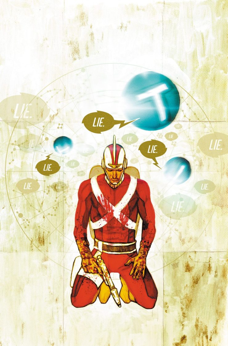 Doc Shaner and Mitch Gerads tease 'Strange Adventures' #2 early