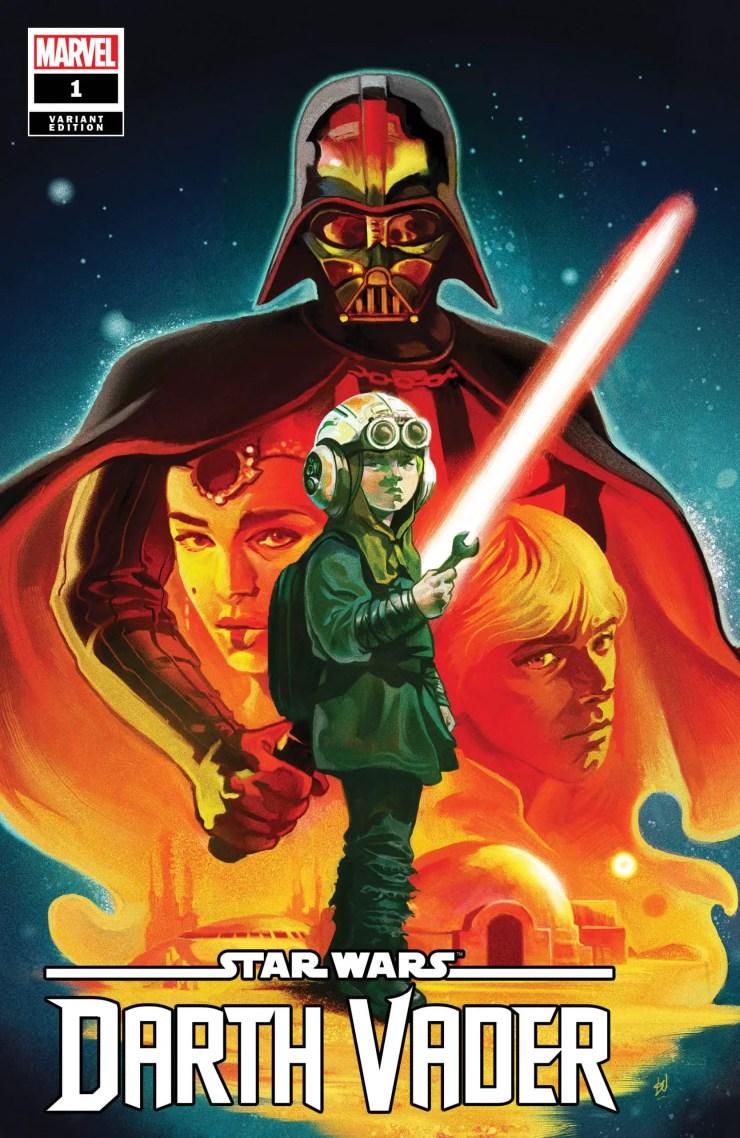 New 'Star Wars: Darth Vader' #1 sneak peek