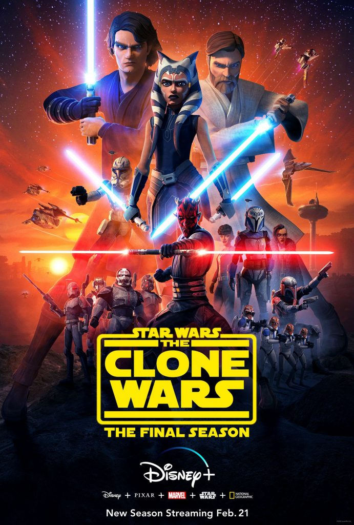 The trailer for the final season of Star Wars: The Clone Wars has arrived