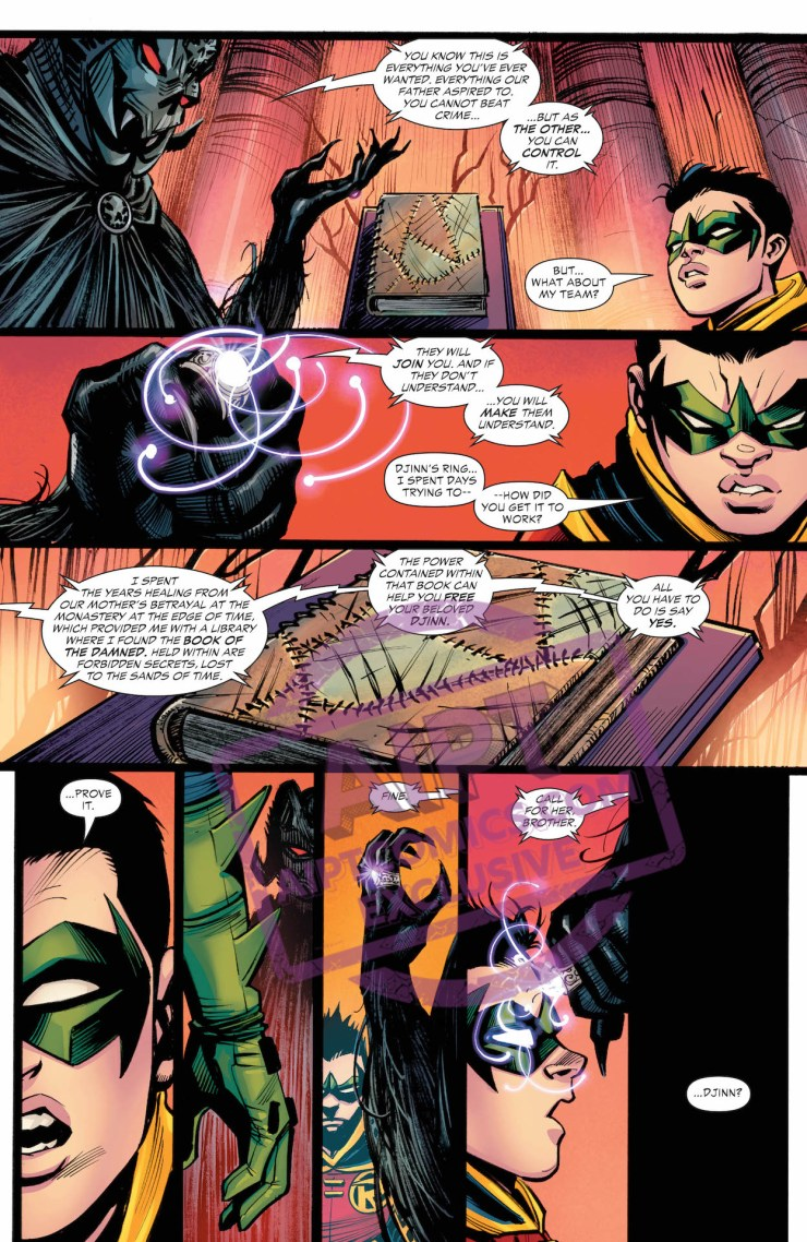 EXCLUSIVE DC Preview: Teen Titans #38