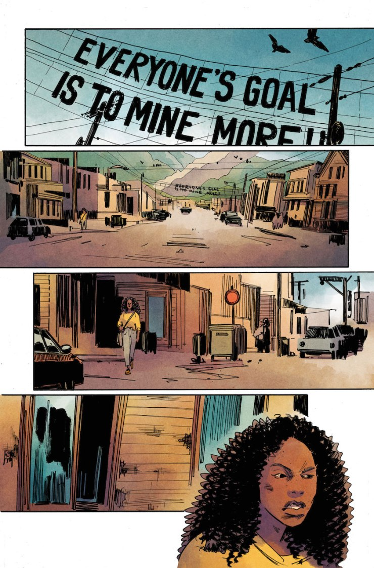 DC Preview: The Low, Low Woods #3