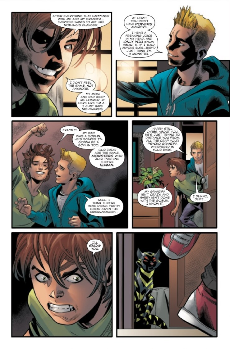 Marvel Preview: Web of Venom: The Good Son #1