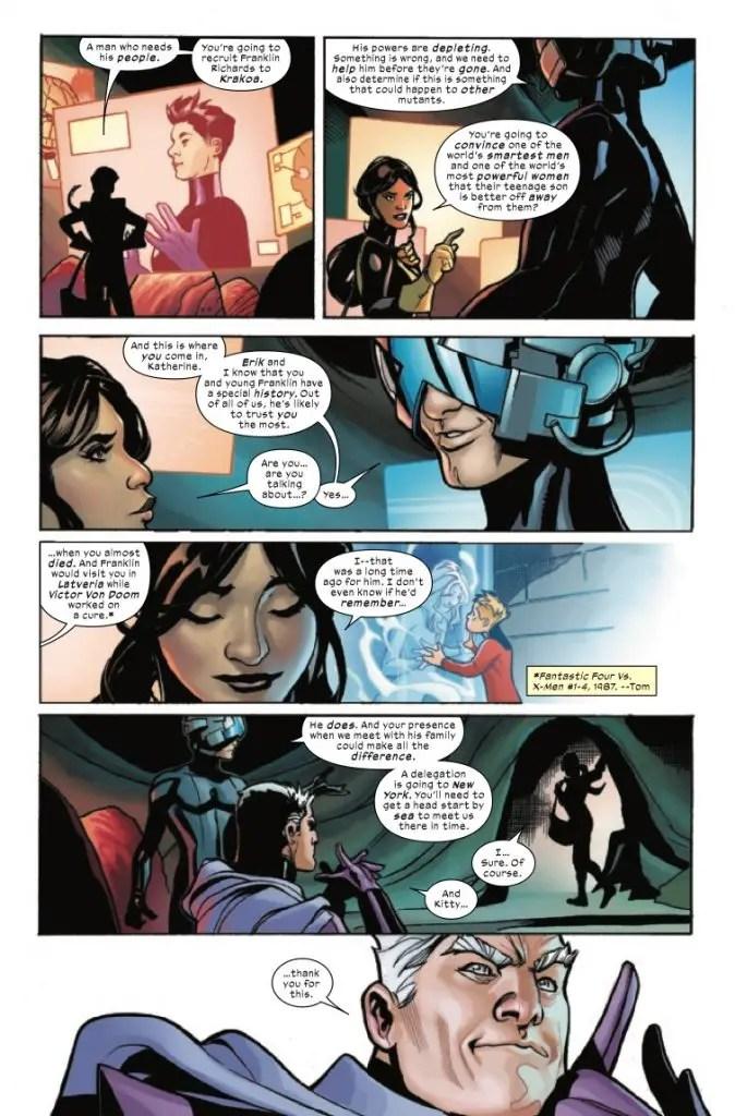X-Men + Fantastic Four #1 Review