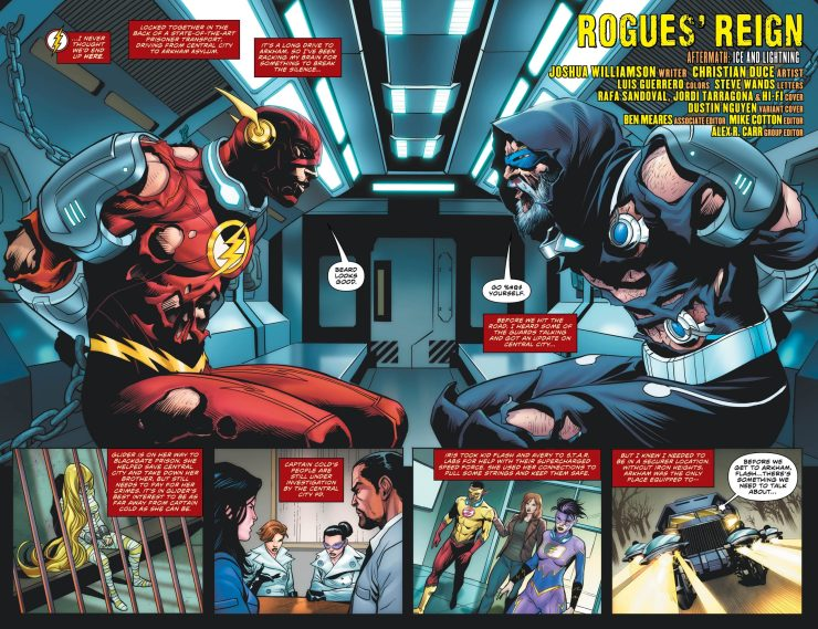 DC Preview: The Flash #87