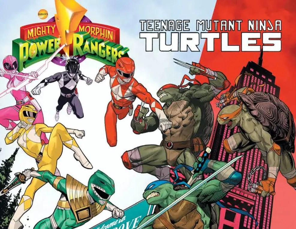 Mighty Morphin' Power Rangers/Teenage Mutant Ninja Turtles #2 Review