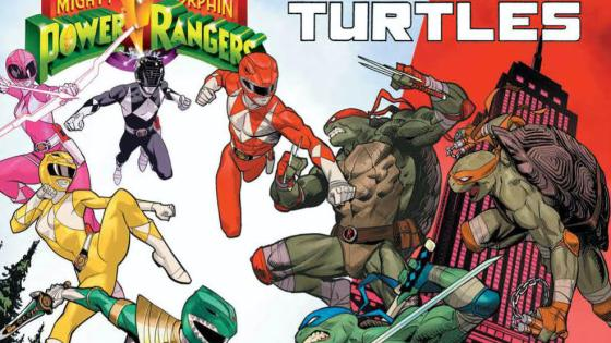 Mighty Morphin' Power Rangers/Teenage Mutant Ninja Turtles #2 Review
