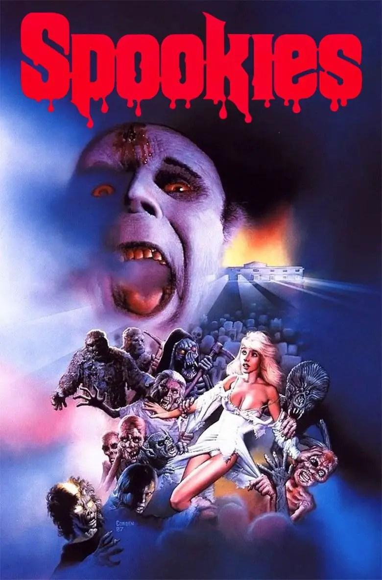 Spookies blu ray review