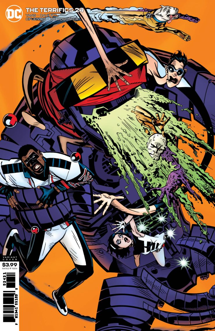 DC Preview: Terrifics #24